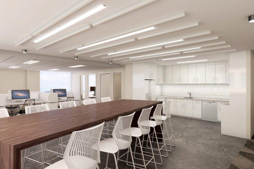 Seventh Floor Common Area (Rendering)